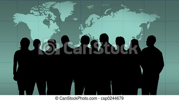 Equipo de negocios - csp0244679