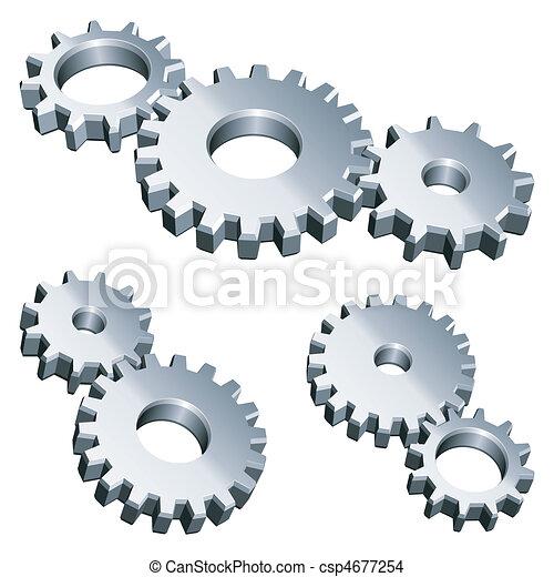 Equipos de metal. - csp4677254