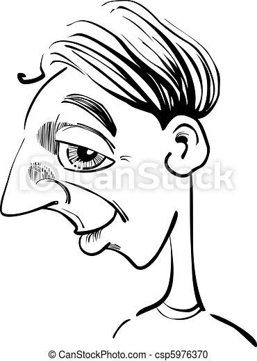 Es una caricatura - csp5976370
