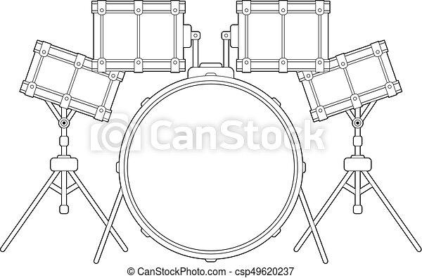 Esbozo de batería - csp49620237