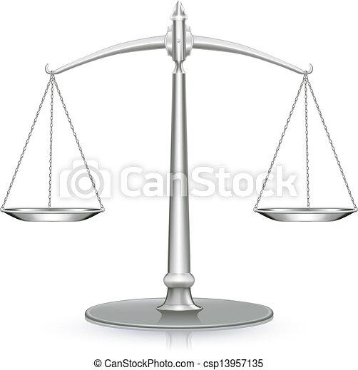 Escala de peso, icono - csp13957135