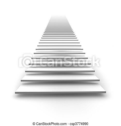 Escalera al cielo - csp3774990