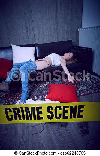 Escena del crimen - csp62246705