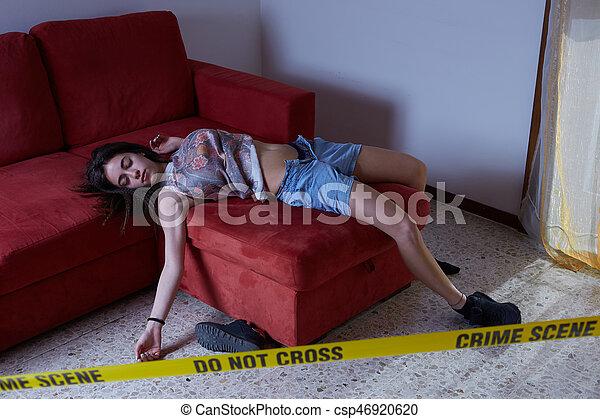 Escena del crimen - csp46920620