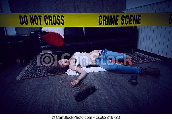 Escena del crimen - csp62246723