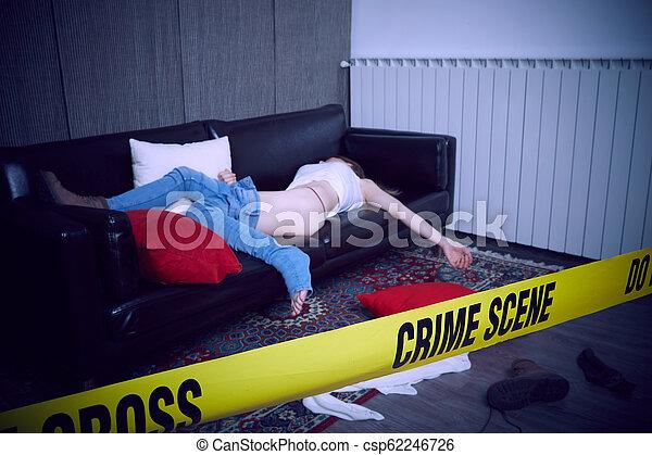 Escena del crimen - csp62246726