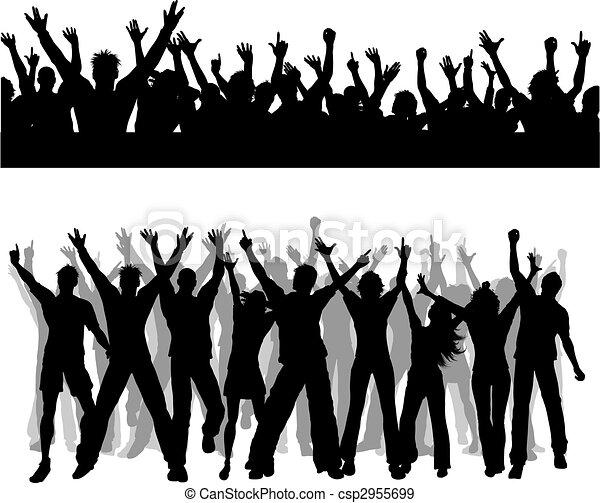 Escenas de multitudes - csp2955699
