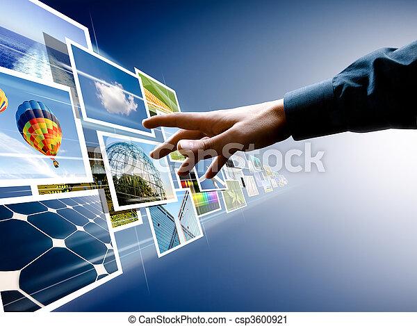 Escogiendo del flujo de imágenes - csp3600921