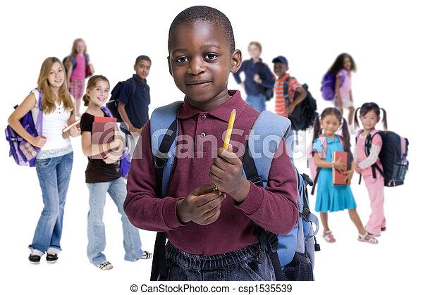 La diversidad escolar - csp1535539