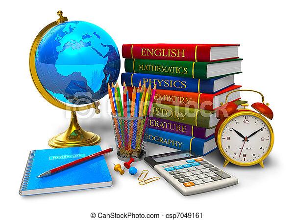 Educación y vuelta al concepto escolar - csp7049161