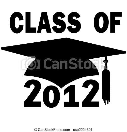 Clase de la graduación de la secundaria 2012 - csp2224801