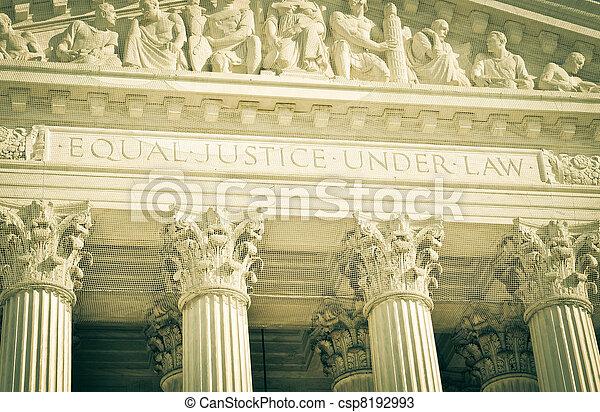 La Corte Suprema de los Estados Unidos - csp8192993