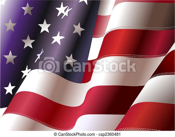 """4 de julio: """"Día de independencia de los Estados Unidos de América"""". Poster para diseñadores gráficos - csp2360481"""