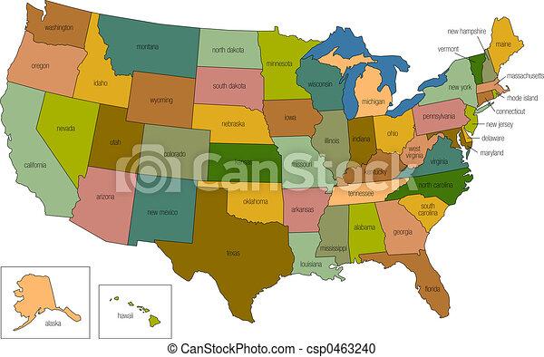 Estados Unidos 01 - csp0463240