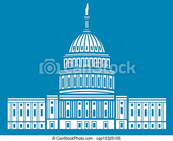 El Capitolio de Estados Unidos - csp15325105