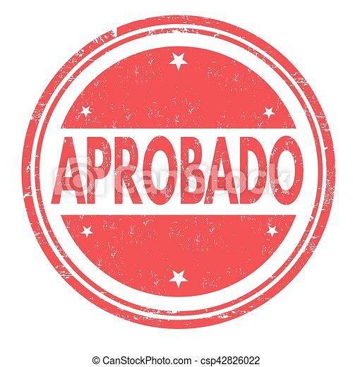 Firma o sello - csp42826022