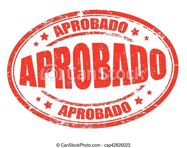Firma o sello - csp42826023