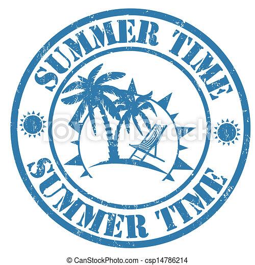 Marca de verano - csp14786214