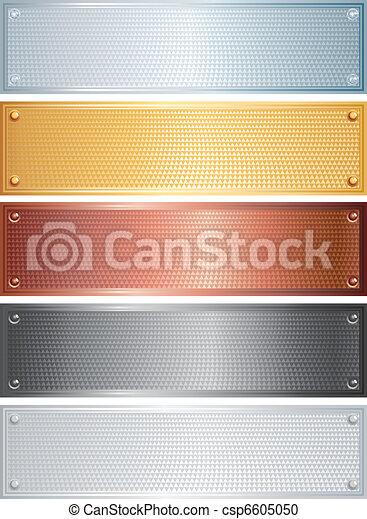Estandartes textuales - csp6605050