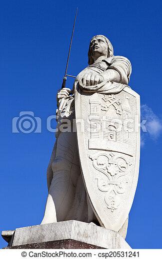 Estatua de St. Roland en riga - csp20531241
