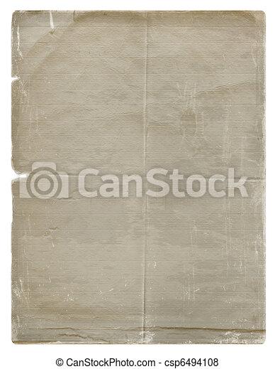 Diseño de papel sucio al estilo de los álbumes de los blancos - csp6494108