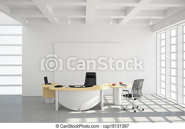 Estilo moderno de oficina - csp18131397