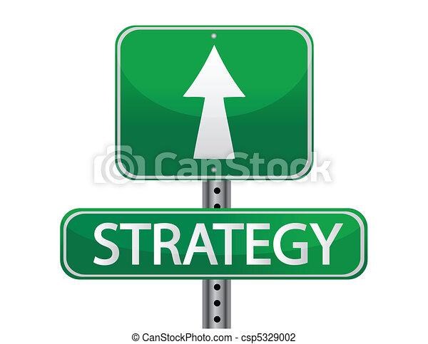 Estrategia de signos callejeros - csp5329002