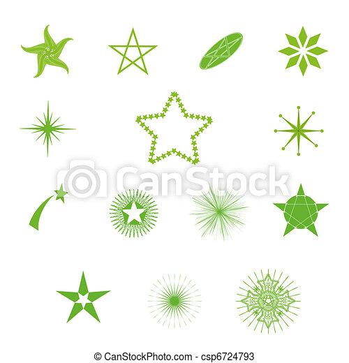 Estrellas del vector - csp6724793