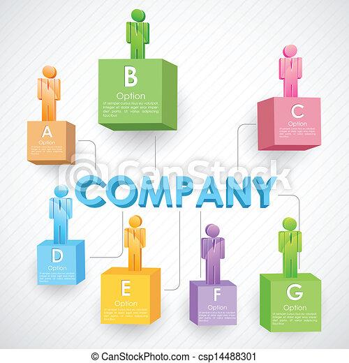 Estructura de negocios - csp14488301
