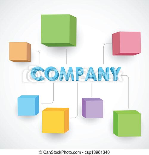 Estructura de negocios - csp13981340