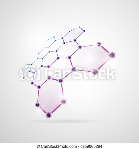 Estructura molecular - csp9066294
