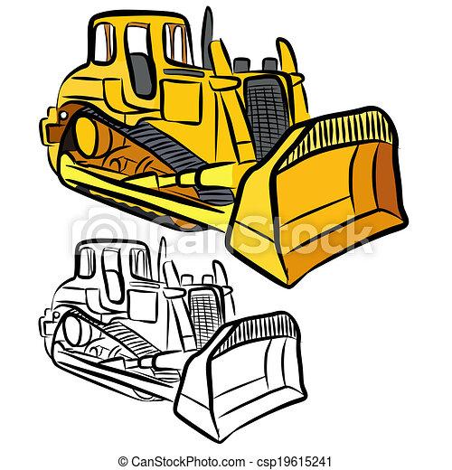 Bulldozer - csp19615241