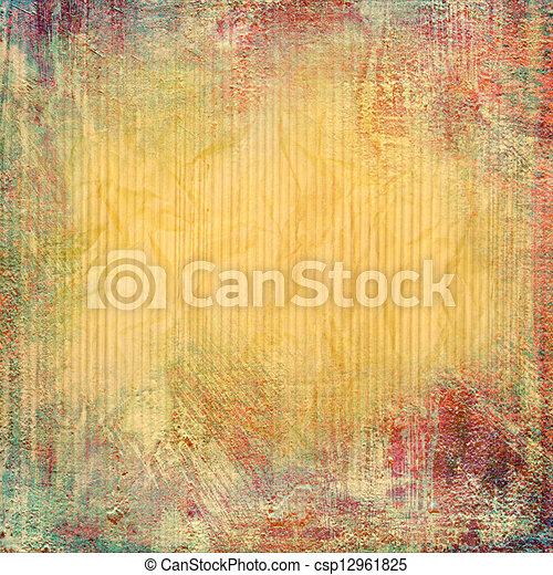 Extracción de fondo o papel con textura de fondo grunge - csp12961825