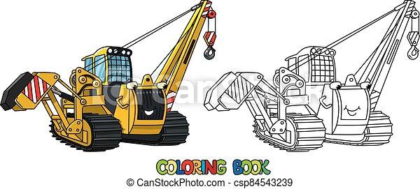 eyes., tubo, colorido, colocar, libro, vehicle., coche - csp84543239