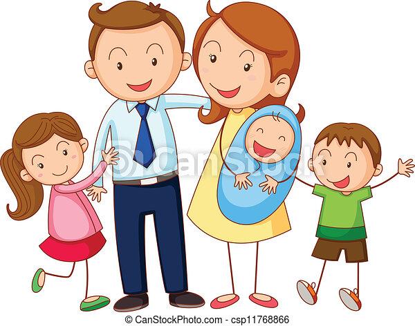 Familia - csp11768866