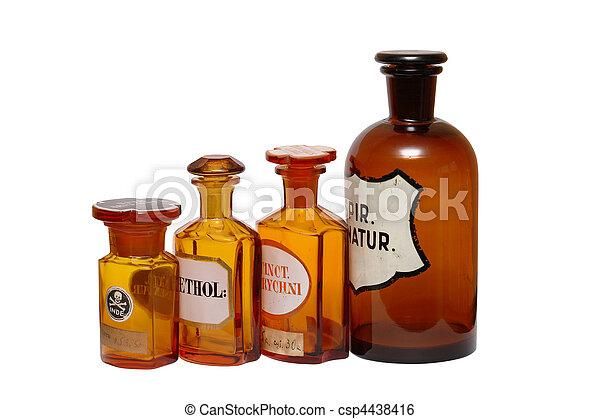 Fábricas farmacéuticas antiguas - csp4438416