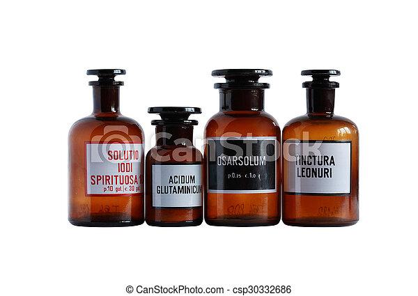 Viejas farmacéuticas - csp30332686