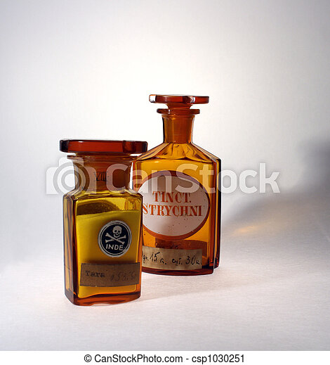 Retro farmacéutico - csp1030251