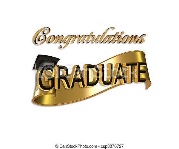 Felicitaciones de graduación - csp3870727