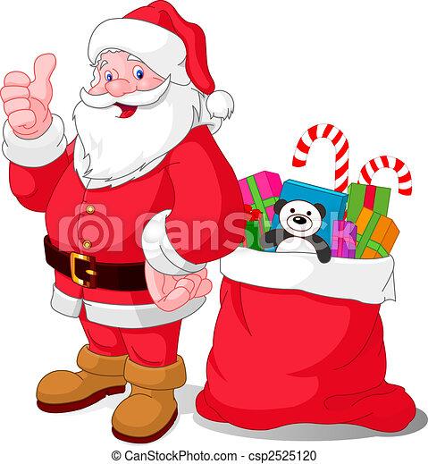 Feliz Santa - csp2525120