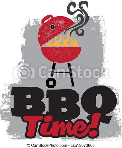 Fiesta de barbacoa BBQ - csp13573665
