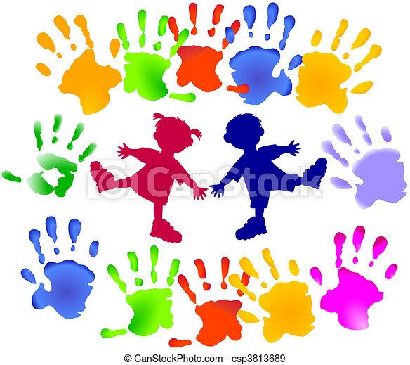 Fiesta infantil - csp3813689