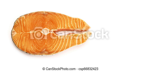 Filete de salmón - csp66832423