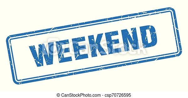 Fin de semana - csp70726595