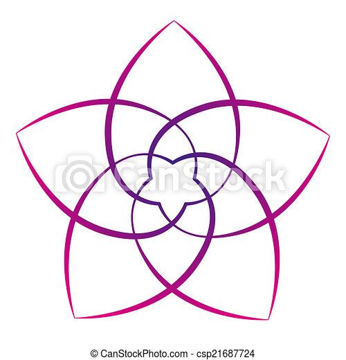 Flor de venus rosa - csp21687724