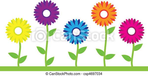 Flores coloridas - csp4697034