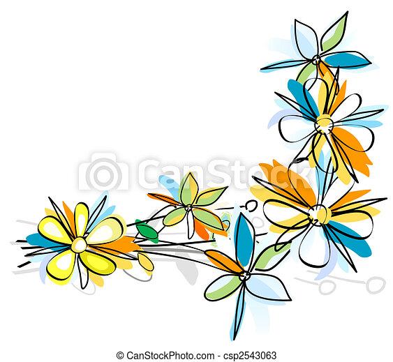Flores - csp2543063