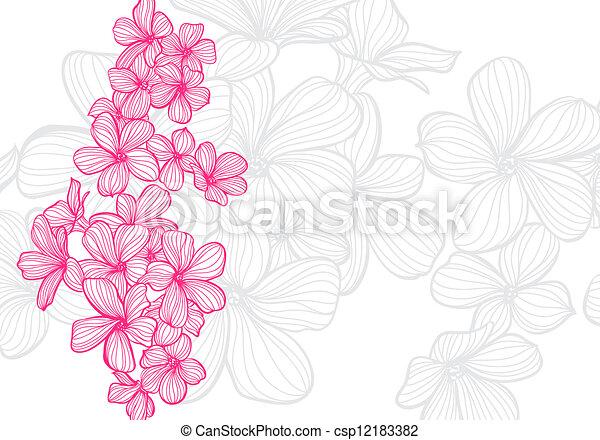 Flores - csp12183382