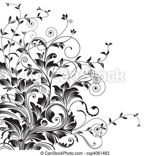Flourishes - csp4061483