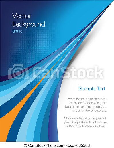 Un fondo de Brochure - csp7685588